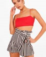Striped-High-Waisted-Belt-Shorts-RO-3239-20-(1)