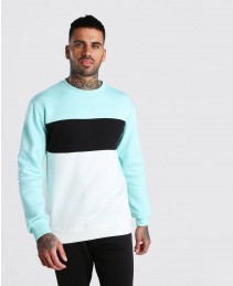 Custom-Fashion-Mint-Colour-Block-Sweatshirt-RO-2117-20-(1)