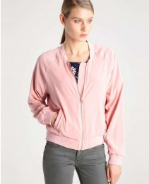 Wholesale Girls Light Pink Varsity Short Jacket RO 103003 (1)
