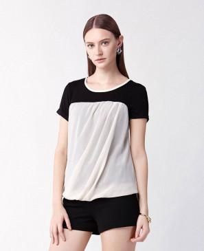Ladies-Two-Tone-Stylish-T-Shirt-RO-102126-(1)