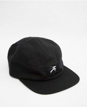 5 Panel Cap In Black