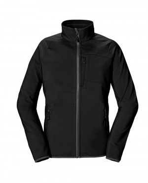 All Black Softshell Jacket