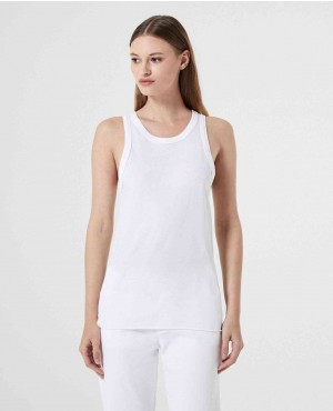 Back Panel Block Stylish Tank Top