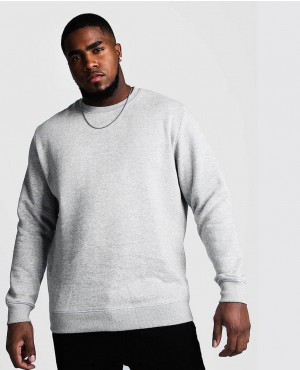 Big And Tall Basic Sweater