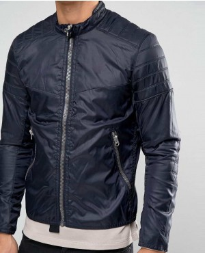 Biker Style Custom Jacket Nylon