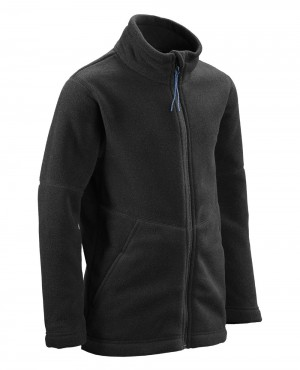Boy Black Polar Fleece Jackets
