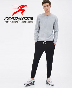Black Skinny Fit Stretch Chino Trouser