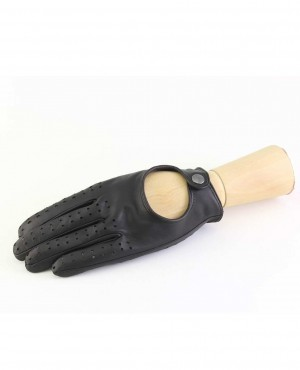 Boys Leather Gloves For Touch Screen Driving