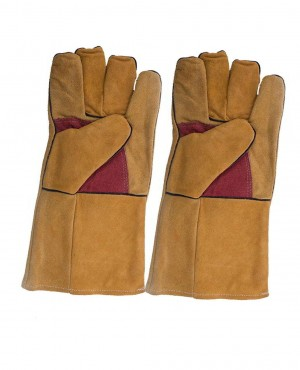 Brand Your Own Anti Cutting Thick Welder Gloves High Temperature Resistant Gloves