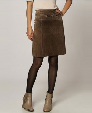 Brown-Leather-Mini-Skirt-RO-102706-(1)