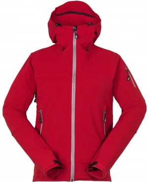 Burgundy Mountain Softshell Jacket