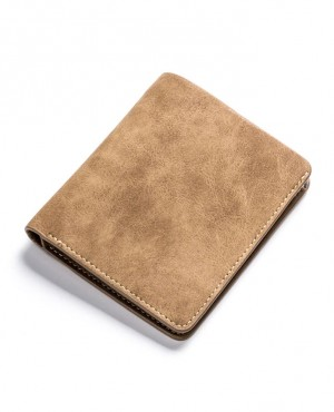 Casual-Short-Slim-Men-Vintage-Leather-Wallets-Matte-Bifold-RO-3835-20-(1)