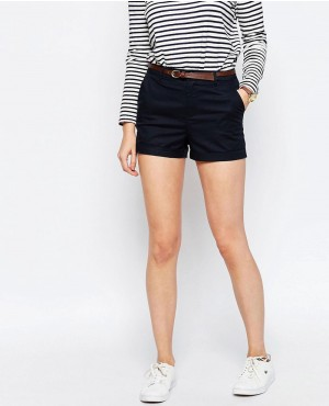 Cheap Petite Chino Women Short