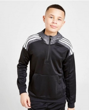 Childs-Sweatshirt-With-Half-Zipper-Sleeve-Stripes-Fashion-Casual-Outdoor-Custom-Hoodie-RO-3355-20-(1)