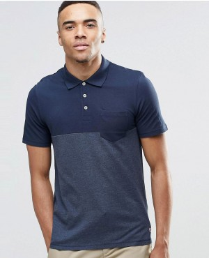 Color Block Polo Shirt