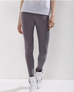 Contrast Side Tape with Custom Branding Tights Leggings