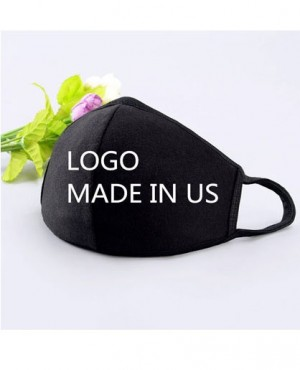 Cotton Face Masks with Logo or Letter Company Logo Design Customization RO-3870-20