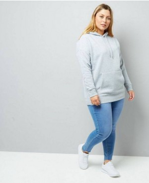 Curves Multi Colors Oversized Hoodie