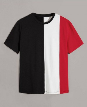 Custom Color Block T Shirts