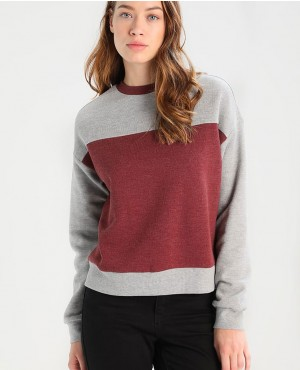 Custom Colors Block Women Trendy Sweatshirt