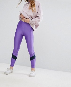 Custom Colour Block Sporty Legging