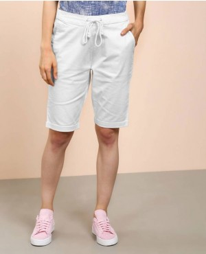 Custom Design New Style Women Jogger White Shorts