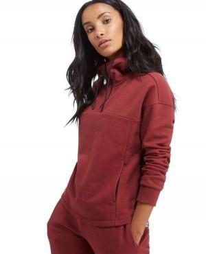 Custom Half Zipper Pullover Pockets Hoodie