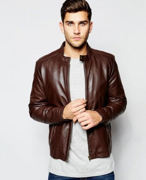 Custom Made Fashion Leather Jackets Racing Sports Event