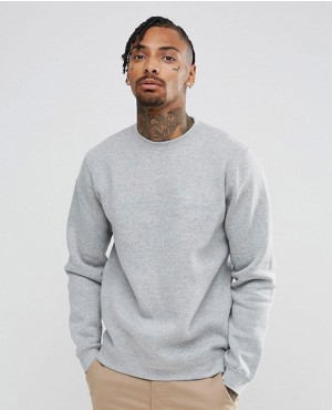 Custom Made Grey Crewneck