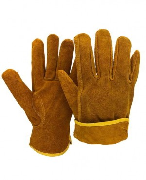 Custom Made Leather Working Welding Gloves Safety Protective Garden Sports Wear