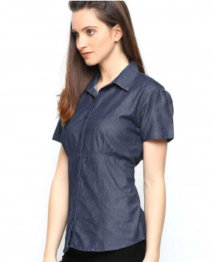 Custom-Navy-Denim-Slim-Fit-Casual-Shirt-RO-3326-20-(1)