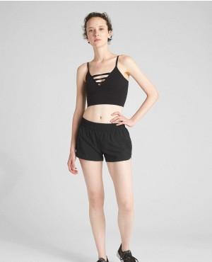 Custom Workout Sports Wear 4 Way Stretchy Wholesale Womens Athletic Shorts