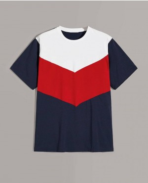 Customizable Chevron Cut And Sew Tee