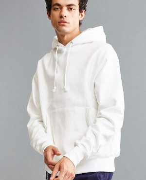 Customizable White Pullover Hoodie