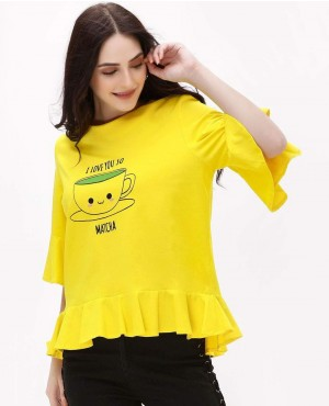 Cute Printed Girls T-Shirts