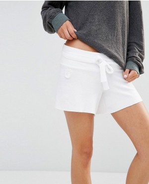 Cutie Clean White Short