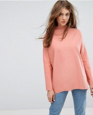 Daily Use Turtle Neck Sweatshirt