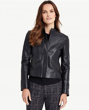Decent Look Women Custom Stylish Leather Jackets