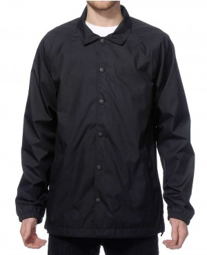 Decent Raglan Sleeves Coach Jacket