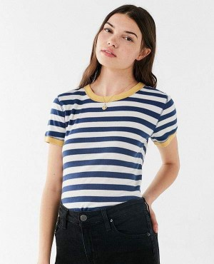 Deeply Striped Ringer T Shirt