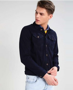 Denim Jacket Dark Blue Denim