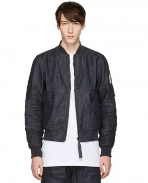 Denim Rackam Bomber Jacket