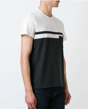 Exelant Quallity New Style Black And White T Shirt