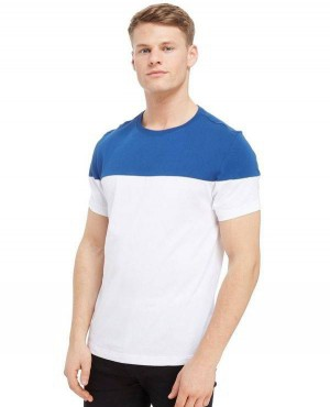 Exelent Quality New Coming T Shirt White And Blue Colors