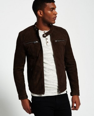 Fashion Leather Most Selling Suede Racer Biker Jackets