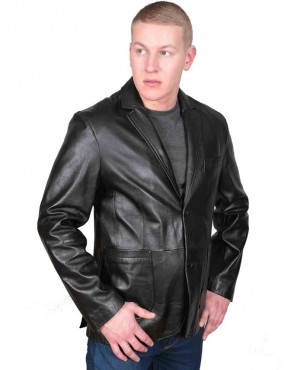 Fashion Men's Clothing Slim Fit Casual Black Blazers