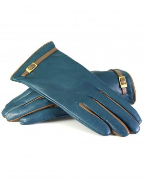 Fashion Winter Leather Motorcycle Full Finger Gloves