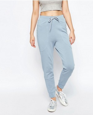 Fashionable Harem Joggers with Oversized Pocket