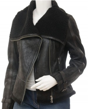 Fashionable Shearling Women Jacket