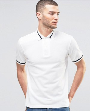 Fred Perry Laurel Wreath Polo Shirt Single Tipped Pique In Slim Fit